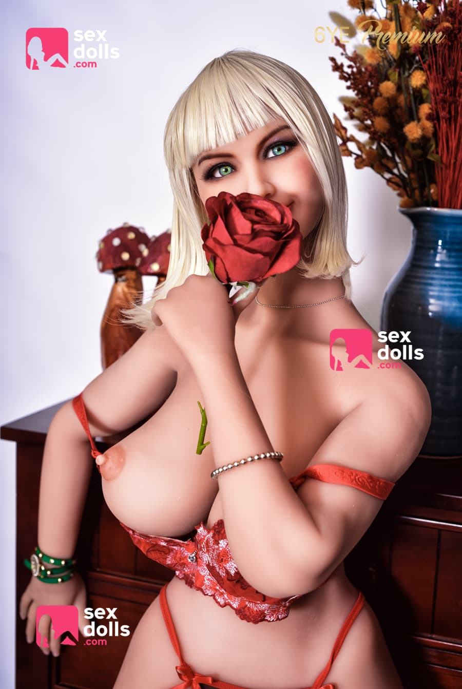 primrose 156cm blonde big boobs athletic tpe sex doll(2)