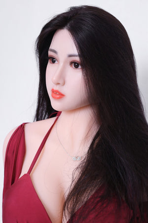 kiki 165cm af black hair big boobs athletic tpe sex doll