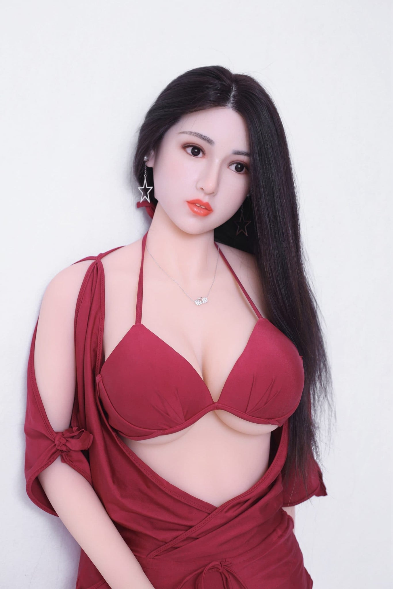 kiki 165cm af black hair big boobs athletic tpe sex doll(6)