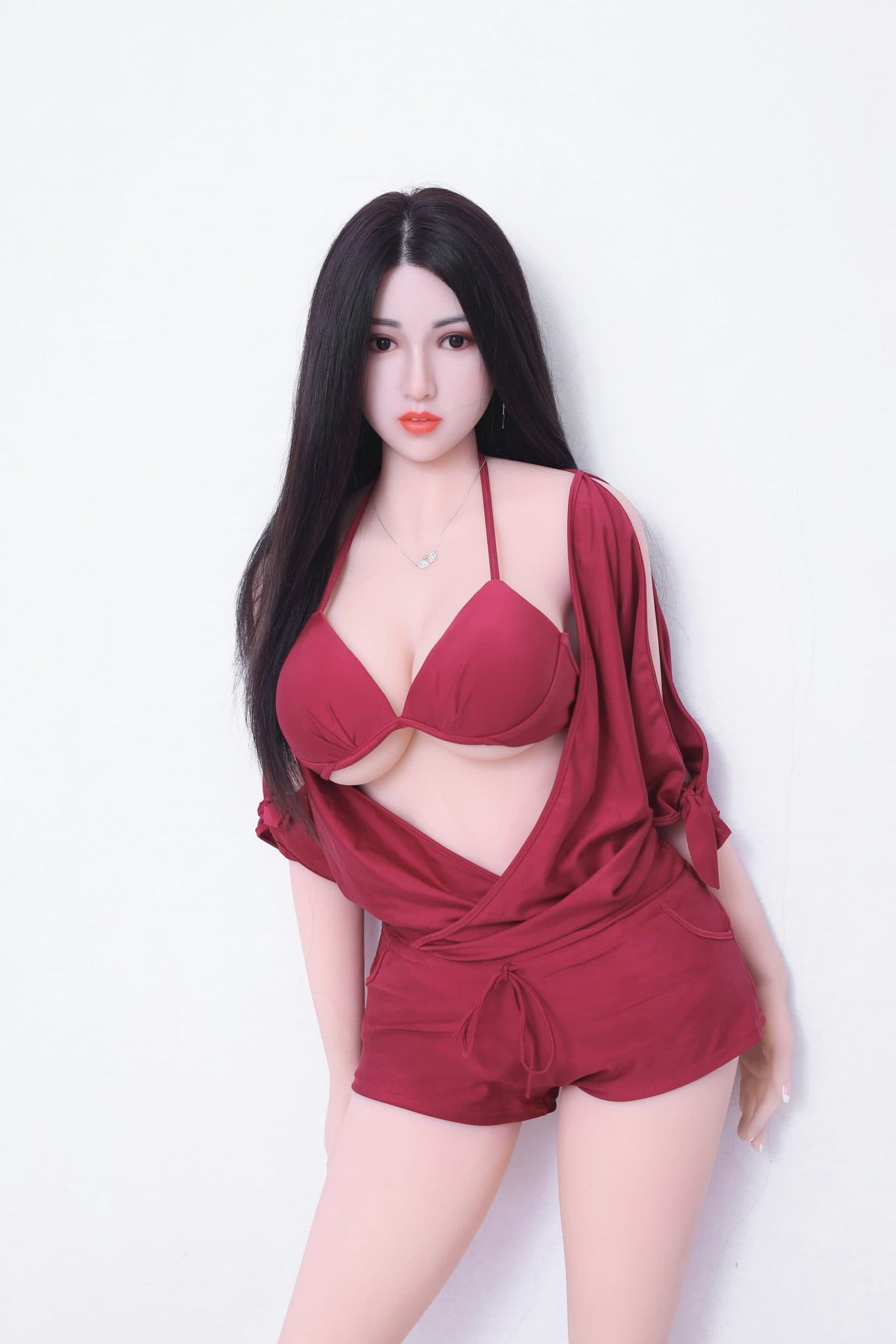 kiki 165cm af black hair big boobs athletic tpe sex doll(7)