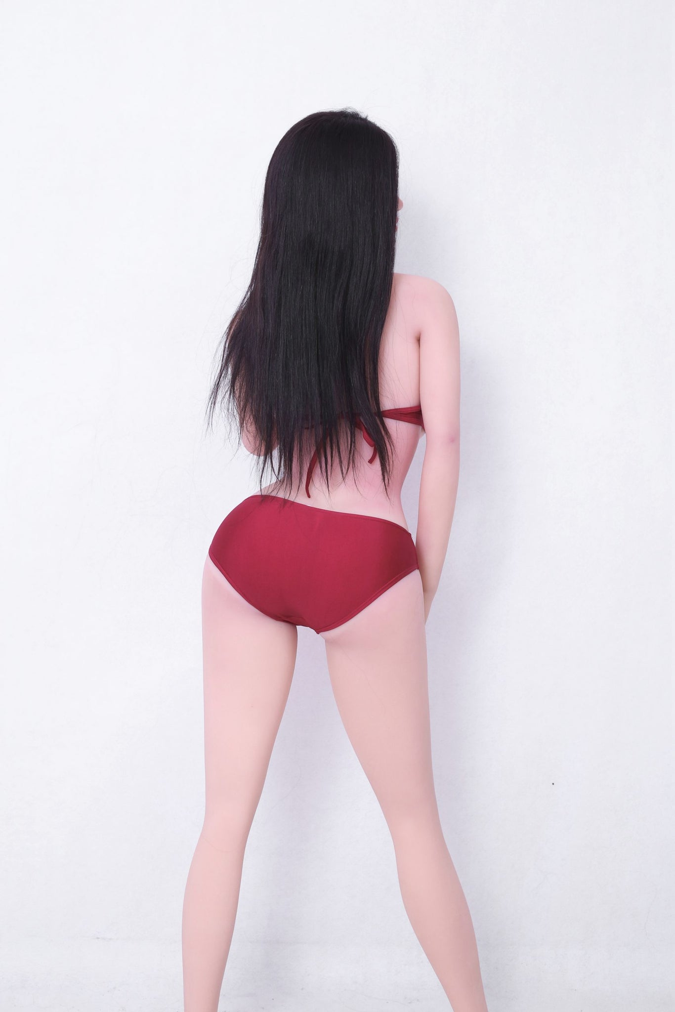 kiki 165cm af black hair big boobs athletic tpe sex doll(8)