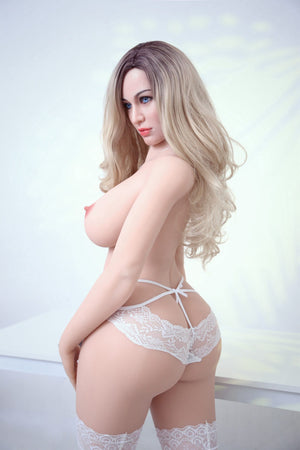 gina 161cm af blonde big boobs athletic tpe sex doll(10)