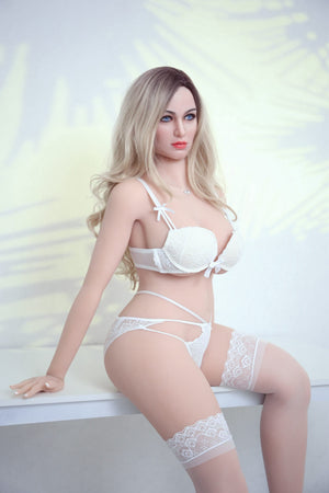 gina 161cm af blonde big boobs athletic tpe sex doll(3)