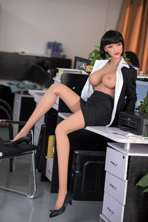 phranc 165cm black hair big boobs athletic tpe sex doll(5)