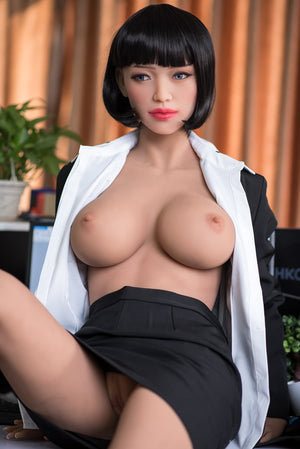 phranc 165cm black hair big boobs athletic tpe sex doll(7)