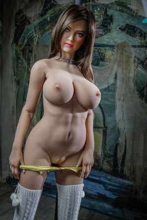 jorja 161cm brown hair big boobs athletic tpe sex doll(2)