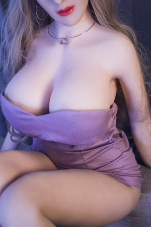 autumn 163cm brown hair curvy jy big boobs sex doll(10)