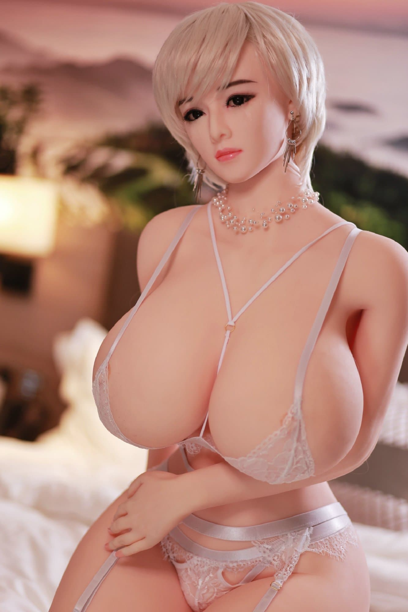 sela 159cm 5ft3 blonde curvy giant massive tits jy tpe sex doll(3)