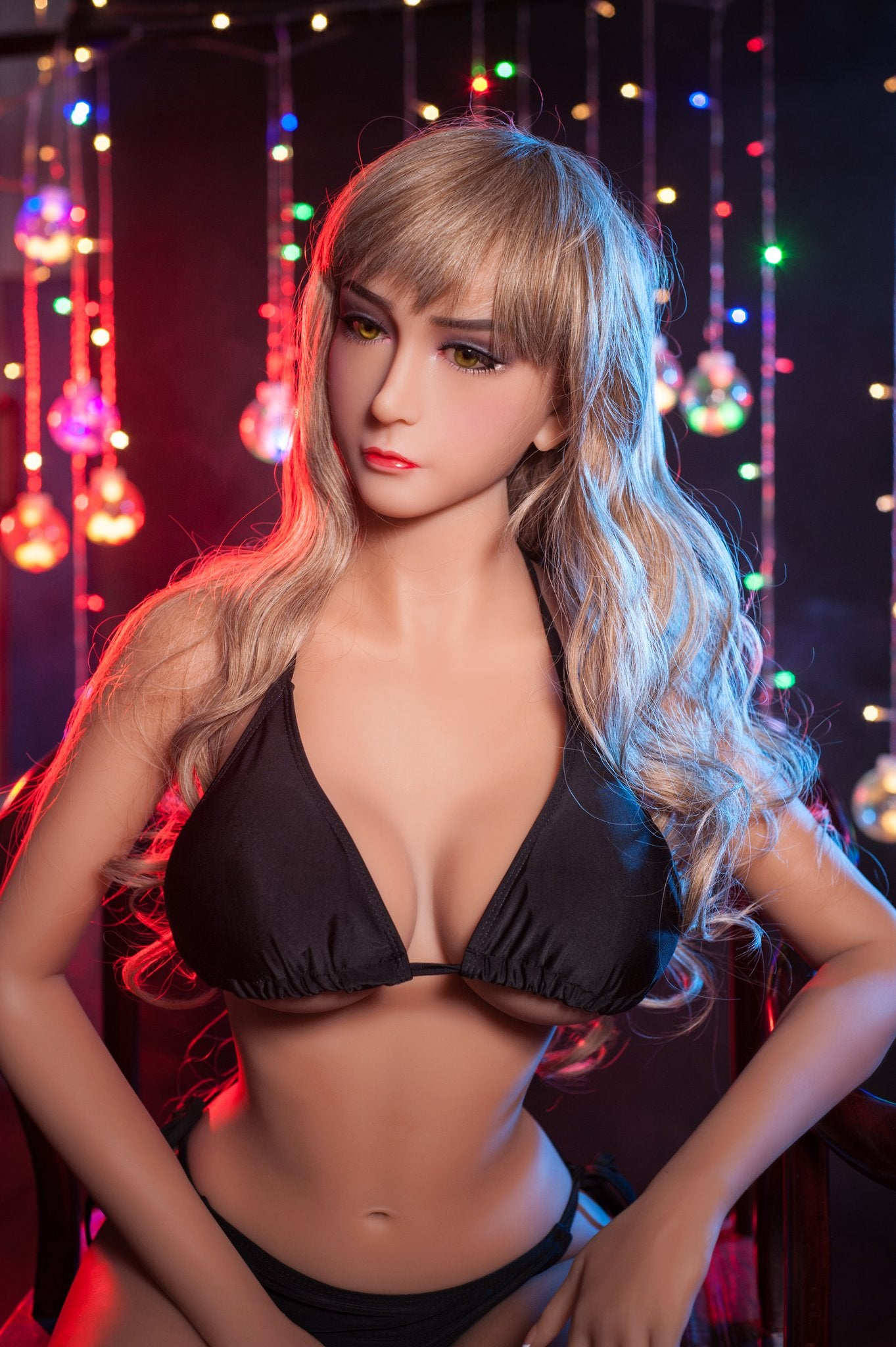 orsa 158cm blonde jy medium tits skinny tpe sex doll(3)