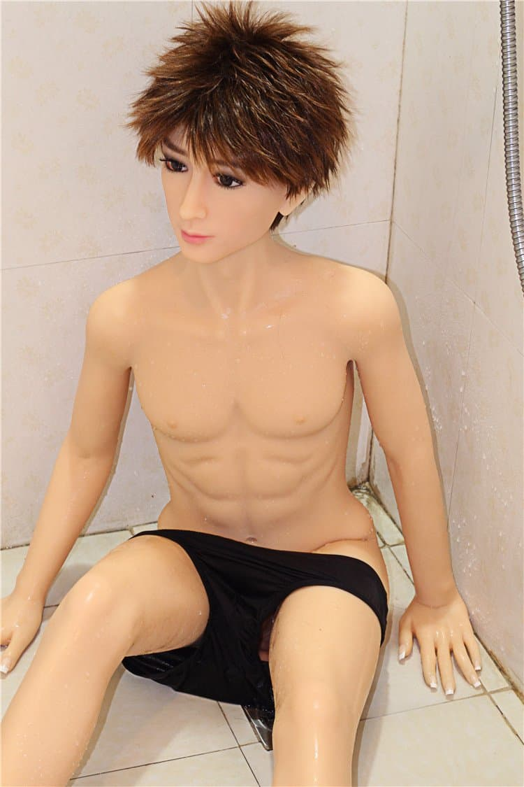 jeff 150cm male af brown hair male tpe gay boy sex doll(11)