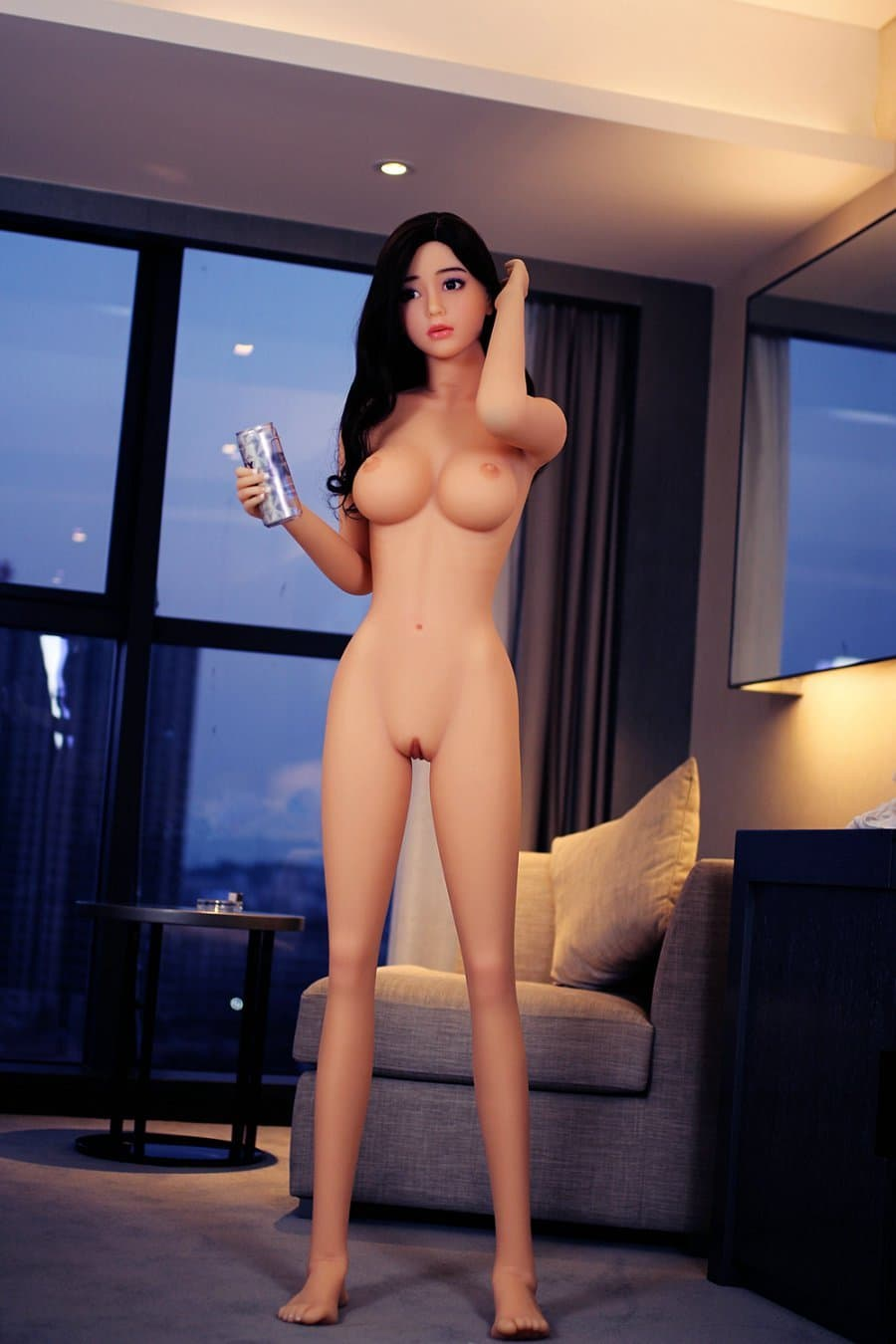 tuesday 168cm af black hair japanese big boobs skinny tpe asian sex doll(10)