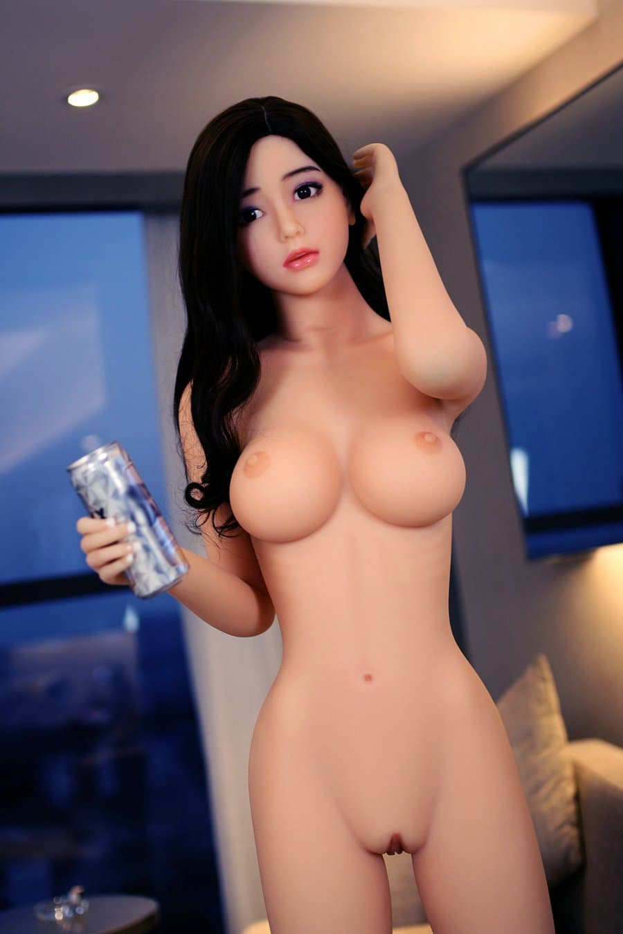 tuesday 168cm af black hair japanese big boobs skinny tpe asian sex doll(8)