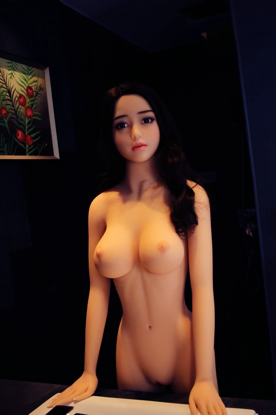 tuesday 168cm af black hair japanese big boobs skinny tpe asian sex doll(9)
