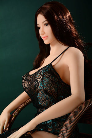selene 165cm af brown hair big boobs athletic tpe sex doll(4)