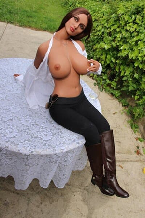 shonna 163cm brown hair curvy big boobs athletic tpe sex doll(12)