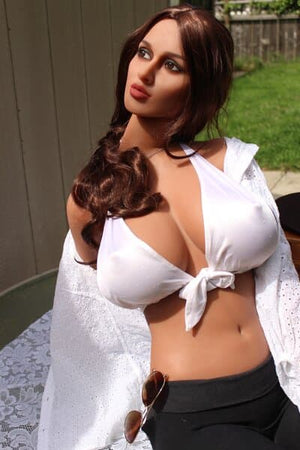 shonna 163cm brown hair curvy big boobs athletic tpe sex doll(9)