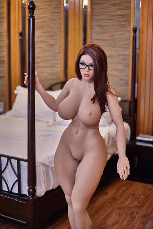 becky 158cm giant massive tits athletic red hair tpe sex doll(8)