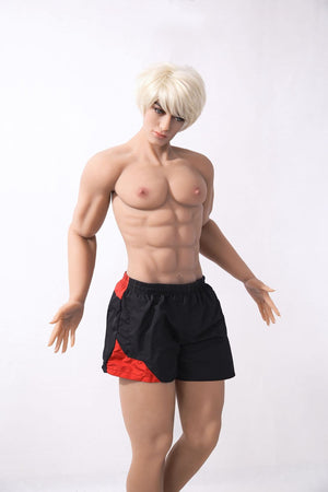 terry 180cm 5ft9 af blonde male athletic tpe gay boy sex doll