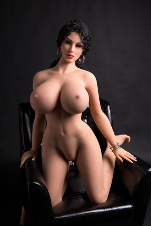 rianne 170cm af black hair giant massive tits athletic tpe sex doll(10)