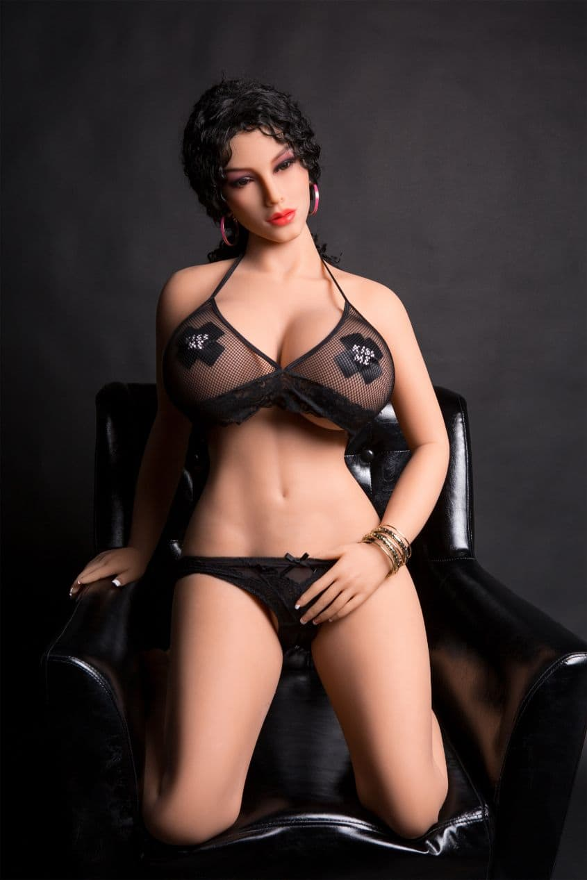 rianne 170cm af black hair giant massive tits athletic tpe sex doll(6)