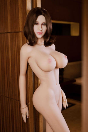nita 165cm af brown hair giant massive tits athletic tpe sex doll(10)