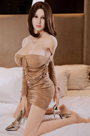 nita 165cm af brown hair giant massive tits athletic tpe sex doll(2)