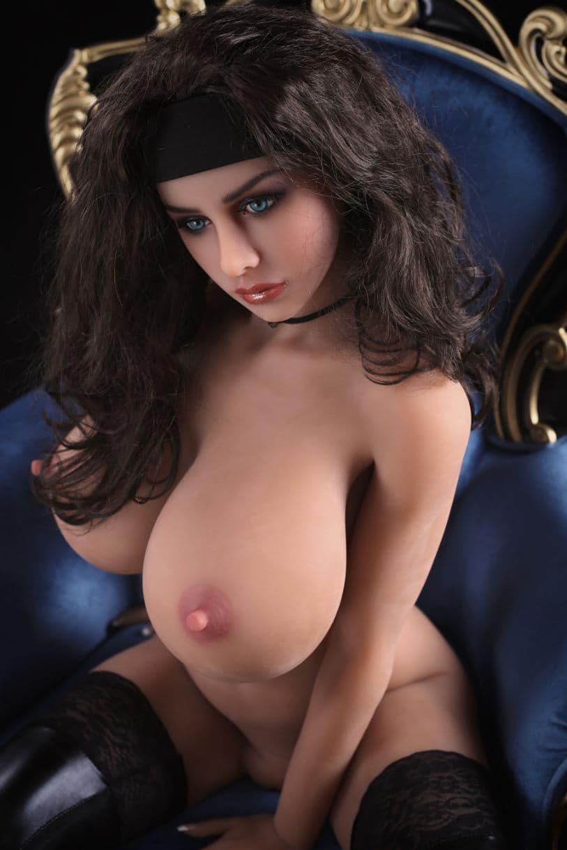 nicki 155cm af black hair big boobs athletic tan skin tpe sex doll(6)