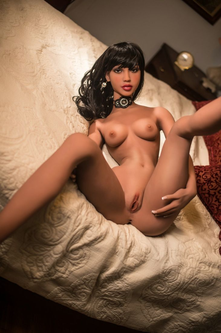 diane 168cm black hair skinny flat chested tan skin tpe yl sex doll(3)
