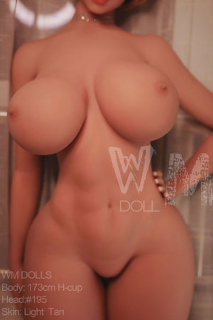 scout 172cm blonde featured big boobs athletic tan skin tpe wm sex doll(9)
