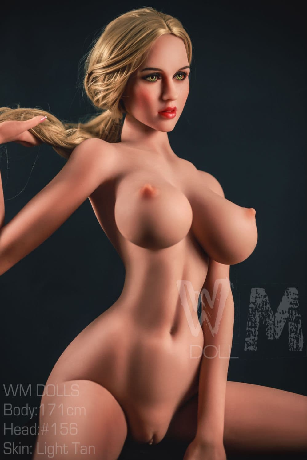 ana 171cm 5ft6 blonde fantasy big boobs tpe wm sex doll(10)