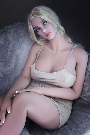 lydia 160cm blonde hr big boobs athletic tpe sex doll(3)