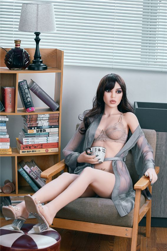 susie 165cm black hair skinny flat chested tpe sex doll(11)
