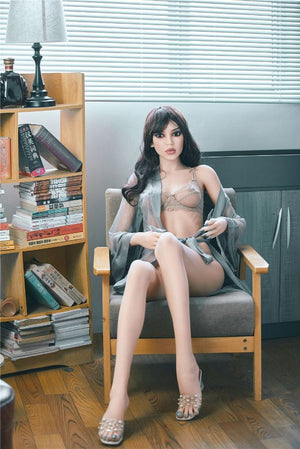 susie 165cm black hair skinny flat chested tpe sex doll(3)