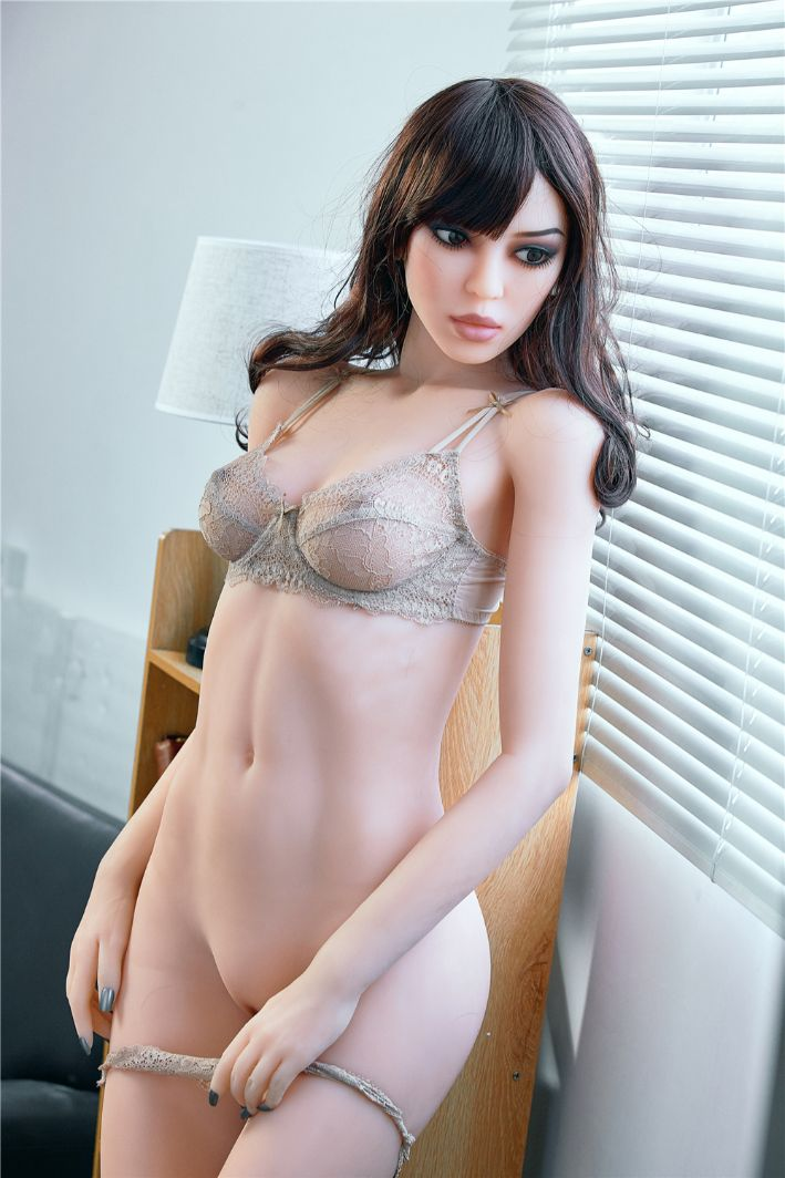 susie 165cm black hair skinny flat chested tpe sex doll(5)
