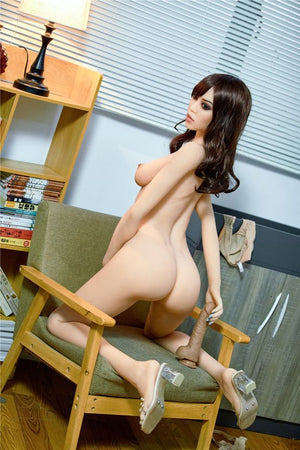 susie 165cm black hair skinny flat chested tpe sex doll(7)