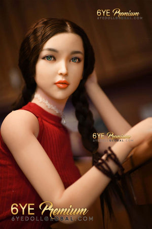 betty 171cm 5ft6 black hair skinny tpe flat chested teen sex doll(3)