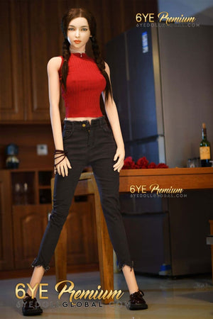betty 171cm 5ft6 black hair skinny tpe flat chested teen sex doll(4)