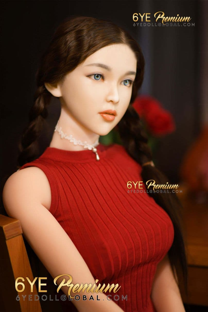 betty 171cm 5ft6 black hair skinny tpe flat chested teen sex doll(5)