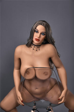 vann 156cm curvy medium tits tan skin tpe bbw sex doll(10)