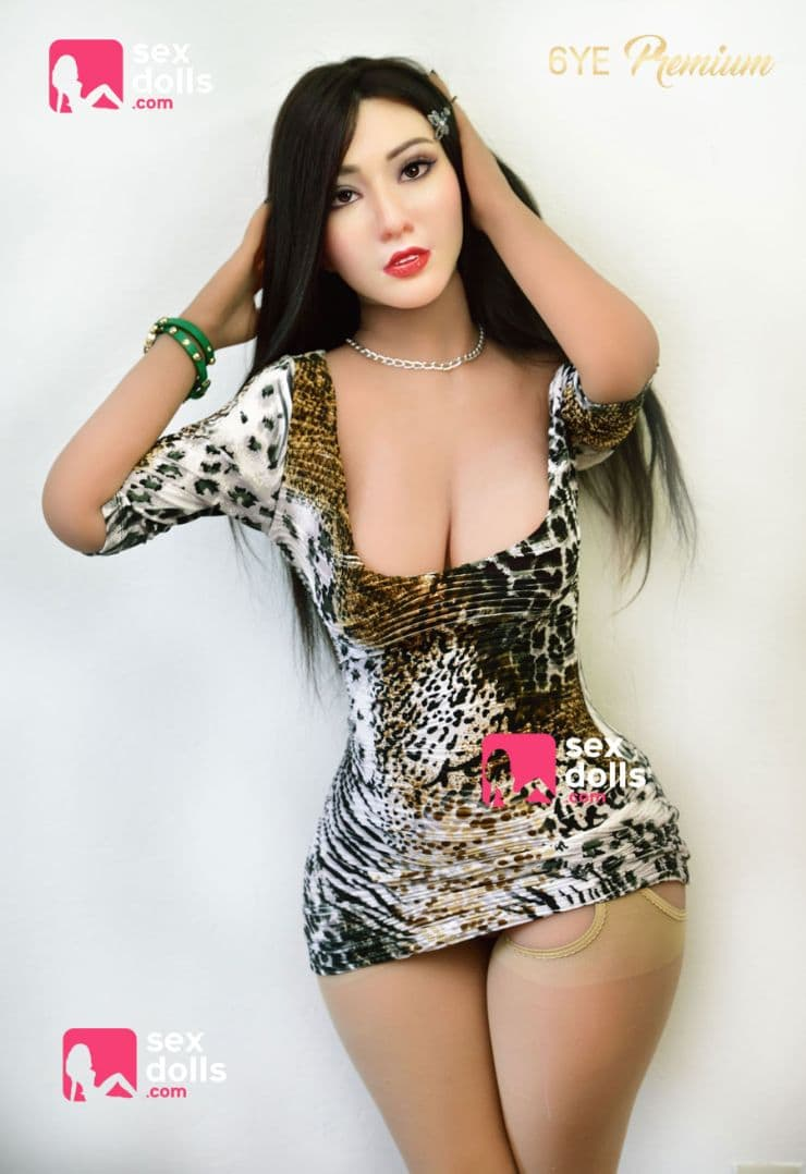 sanaa 153cm black hair curvy medium tits tpe asian sex doll