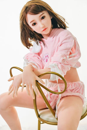 traylor 165cm brown hair hr japanese medium tits skinny tpe asian teen sex doll(11)