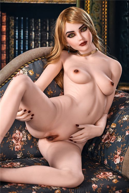 estelle 165cm brown hair skinny flat chested tpe sex doll(6)