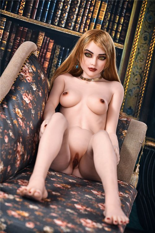 estelle 165cm brown hair skinny flat chested tpe sex doll(7)