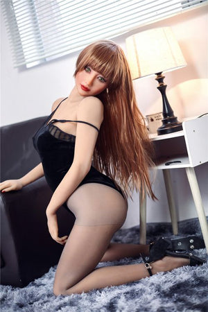 jeane 163cm brown hair medium tits skinny tpe sex doll(3)