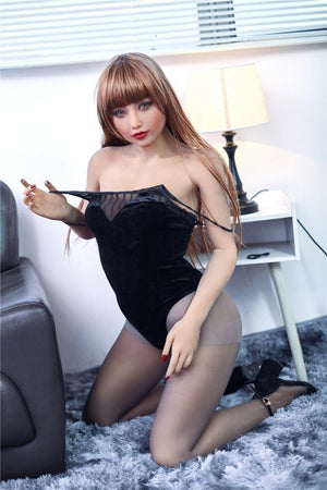 jeane 163cm brown hair medium tits skinny tpe sex doll(4)