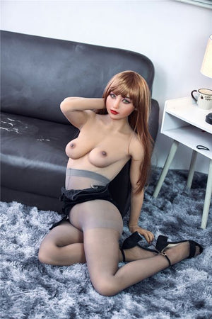 jeane 163cm brown hair medium tits skinny tpe sex doll(5)