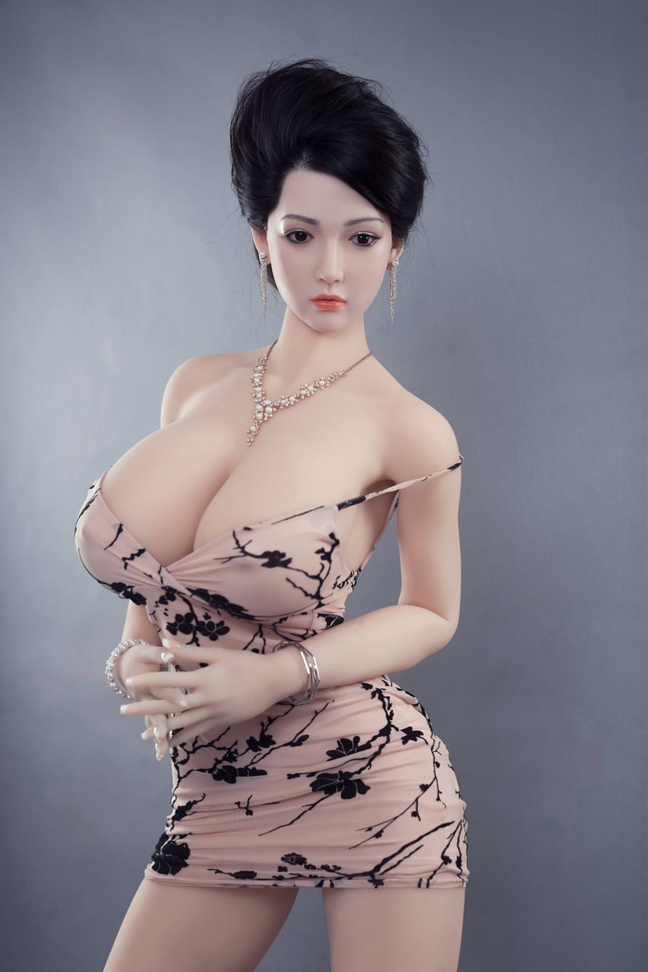 graciela 170cm af black hair big boobs athletic tpe sex doll(3)