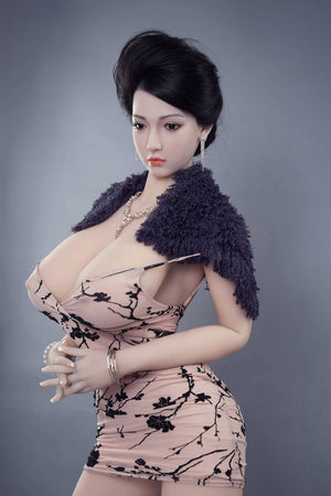 graciela 170cm af black hair big boobs athletic tpe sex doll(5)