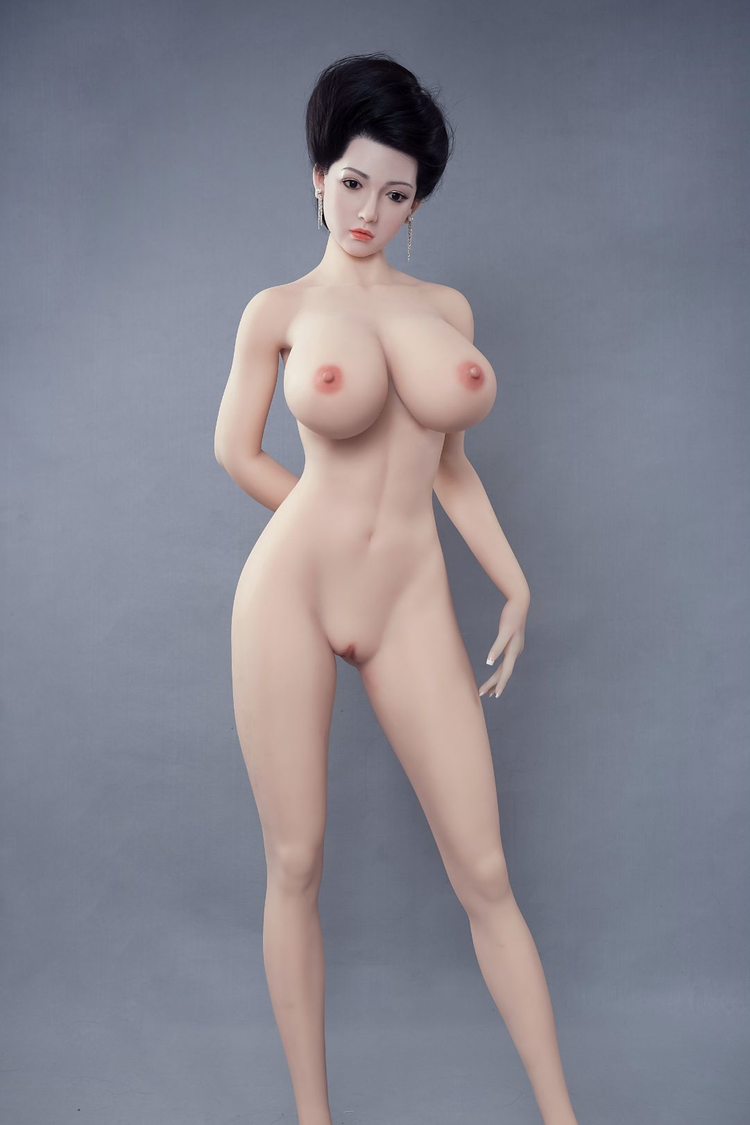 graciela 170cm af black hair big boobs athletic tpe sex doll(8)