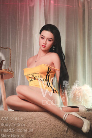 kourtney 163cm black hair japanese medium tits skinny tpe wm asian sex doll(2)